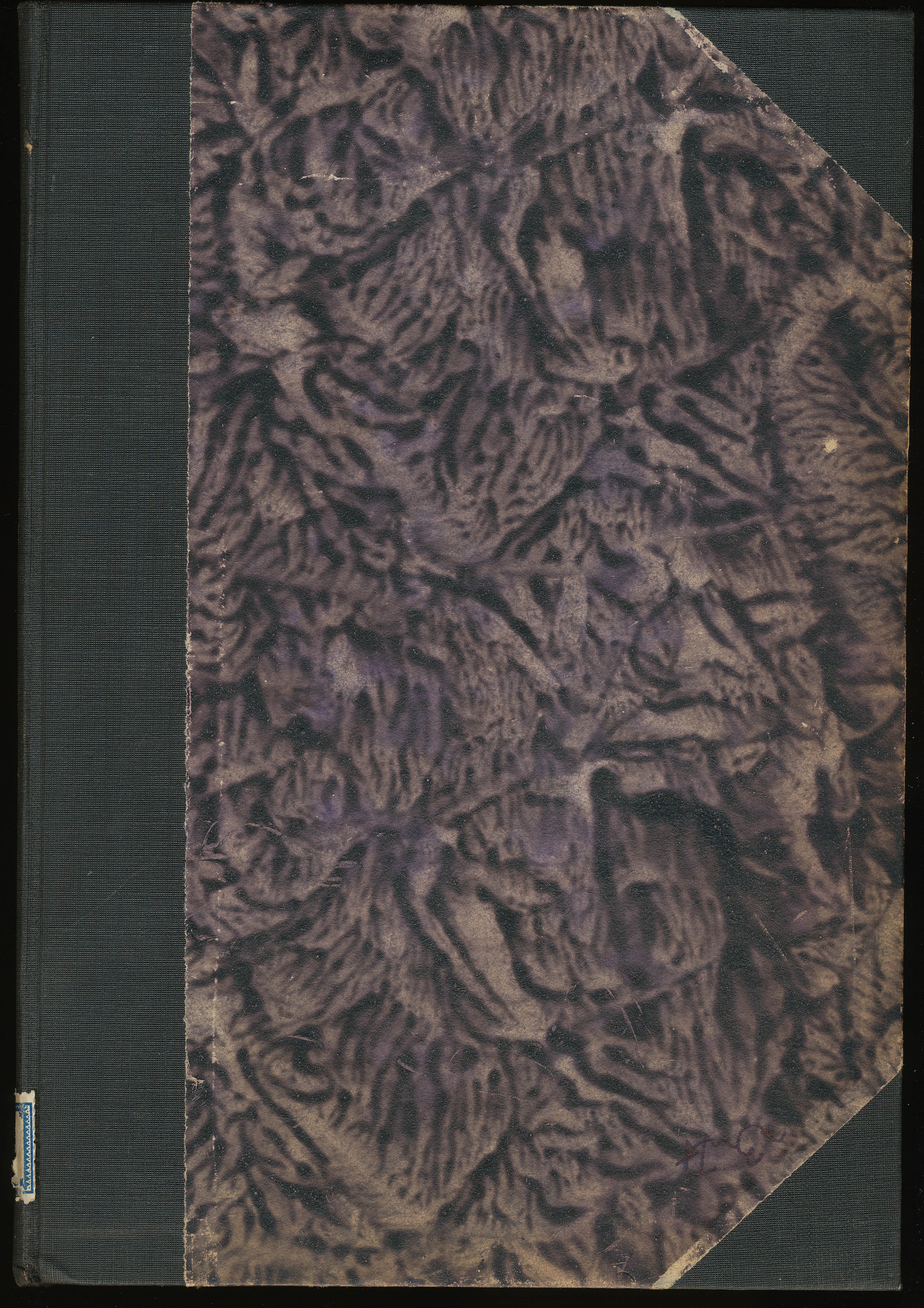 five hq vintage book paper and leather cover texture