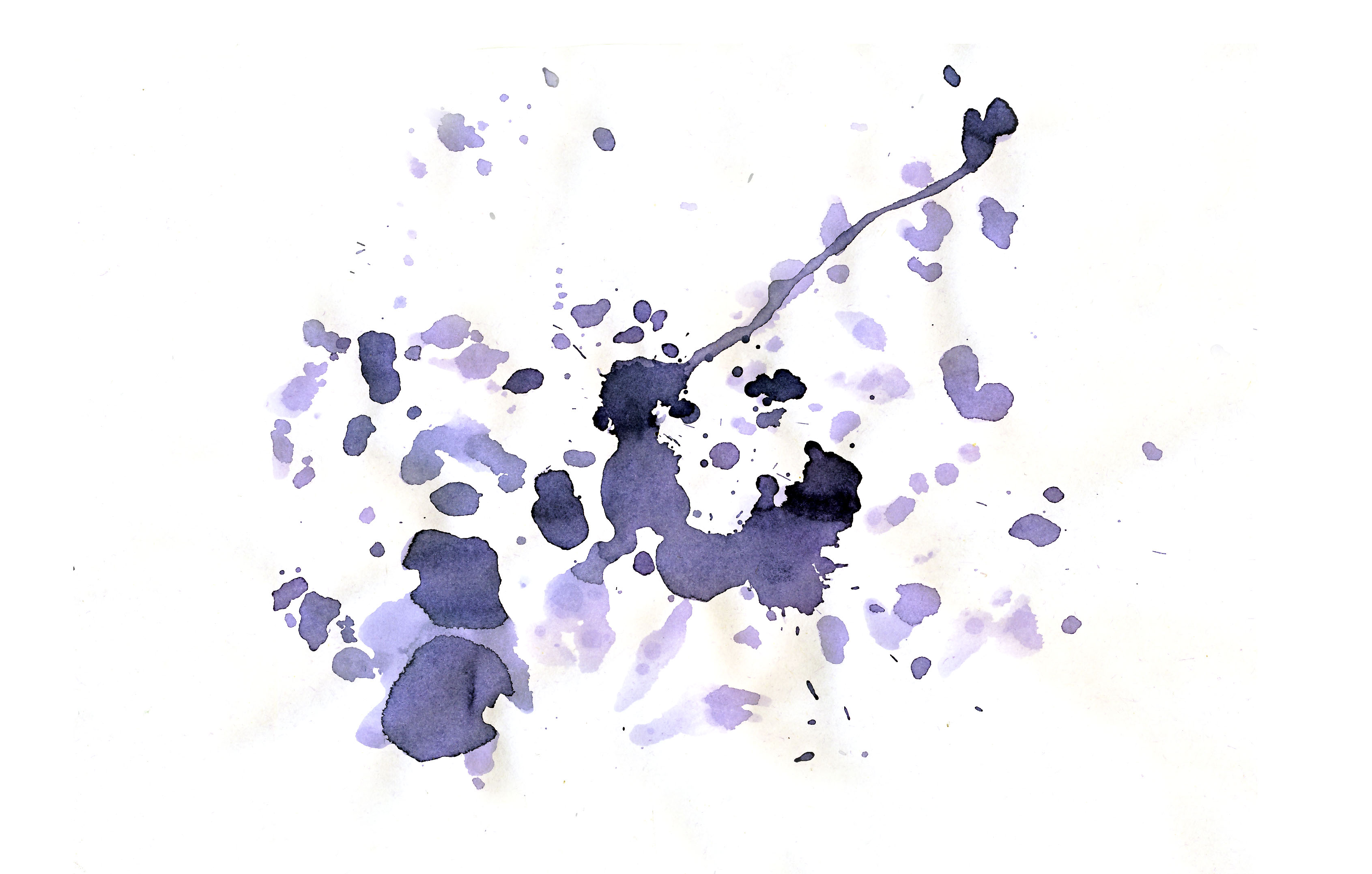 Ink Drops In A White Paper Textures For Photoshop Free