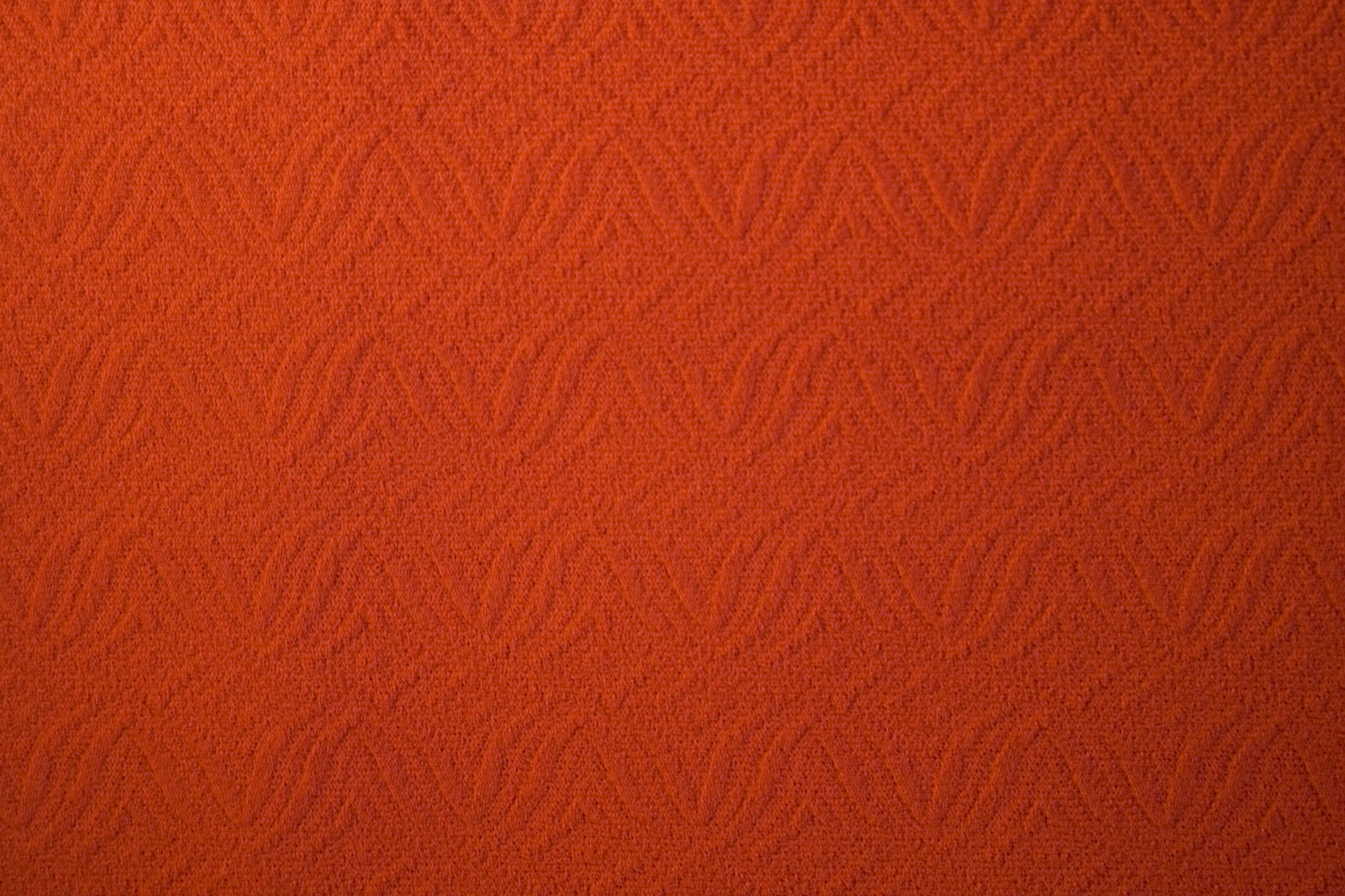 Orange Textile Texture With Patterns Textures For
