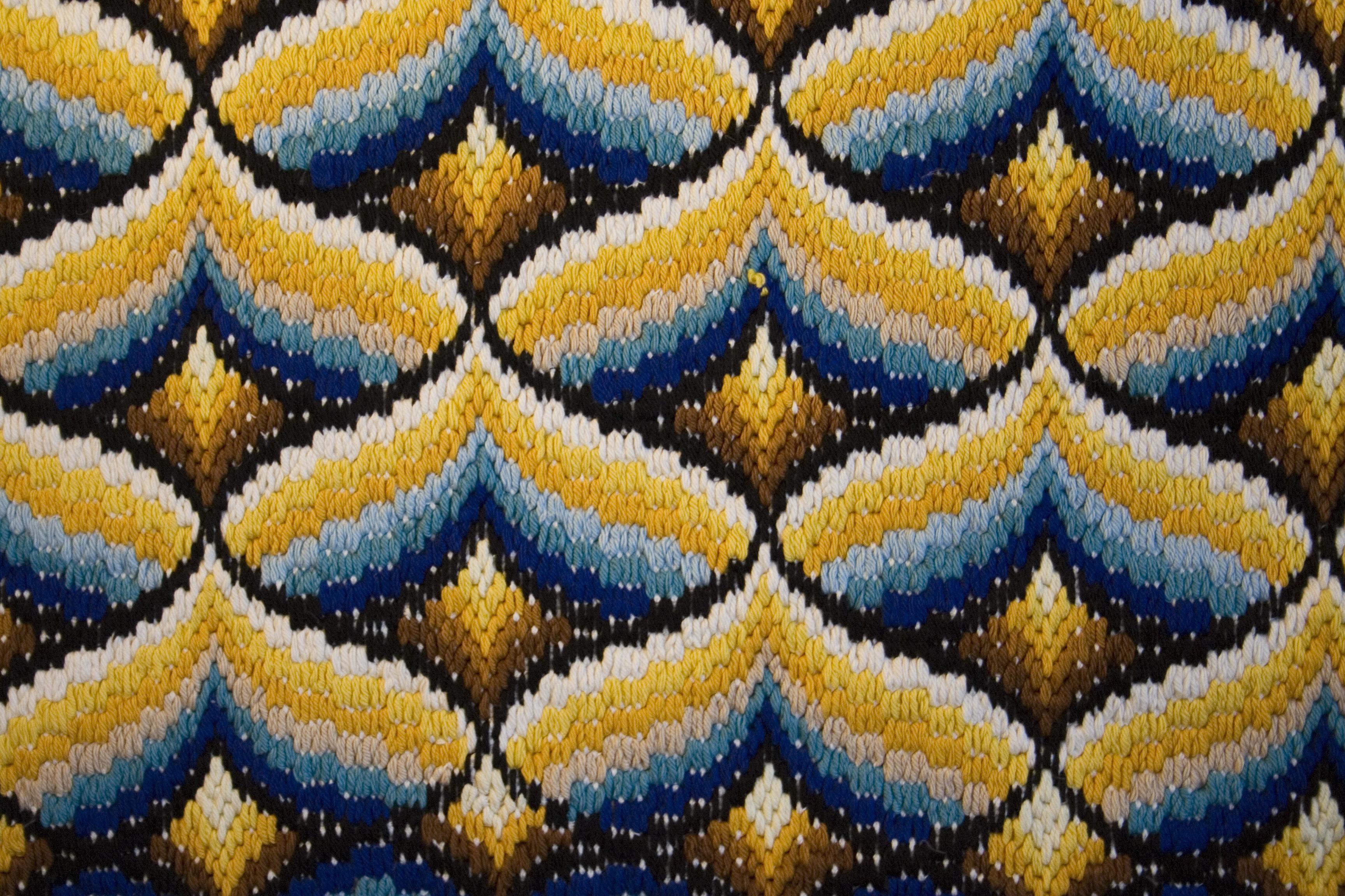 Vintage colorful patterns on textile texture   TexturePalace.com