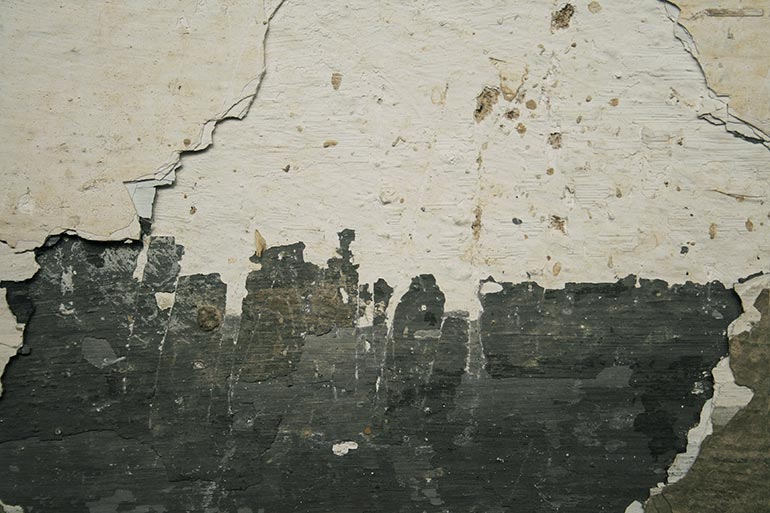 Cracked old dusty wall texture
