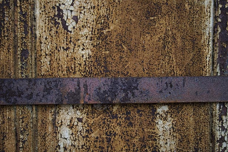 Old and rusty brown metal free stock texture