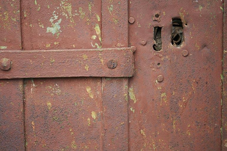 Brown rusty metal stock texture