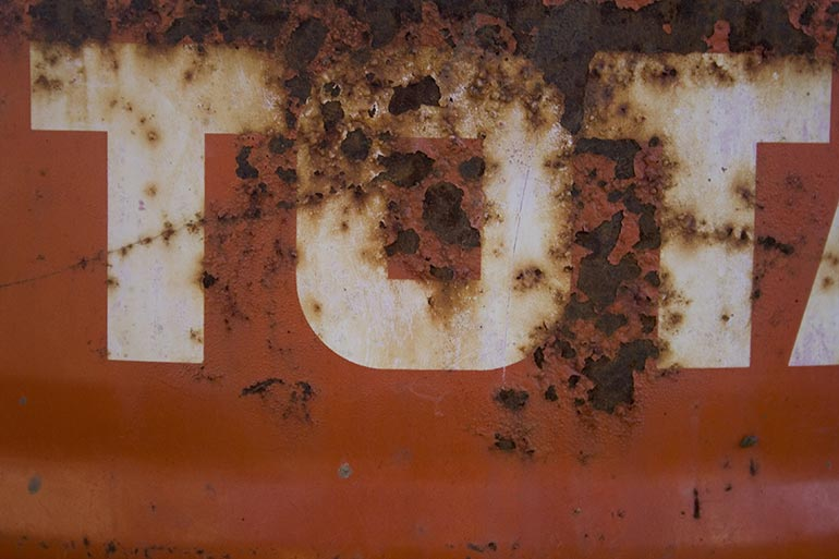 Grunge, Red Metal with rust