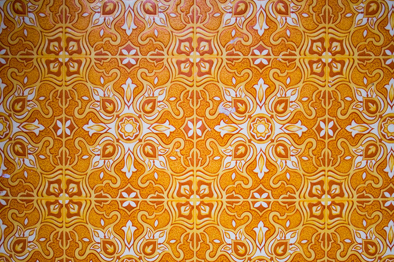 Vintage floor pattern texture