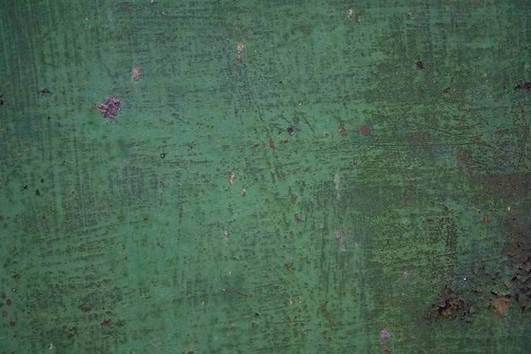 Green Rusty Metal, Free Stock Texture