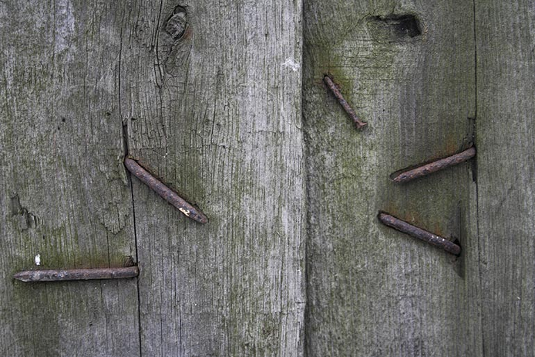Old dusty wood stock texture with angle