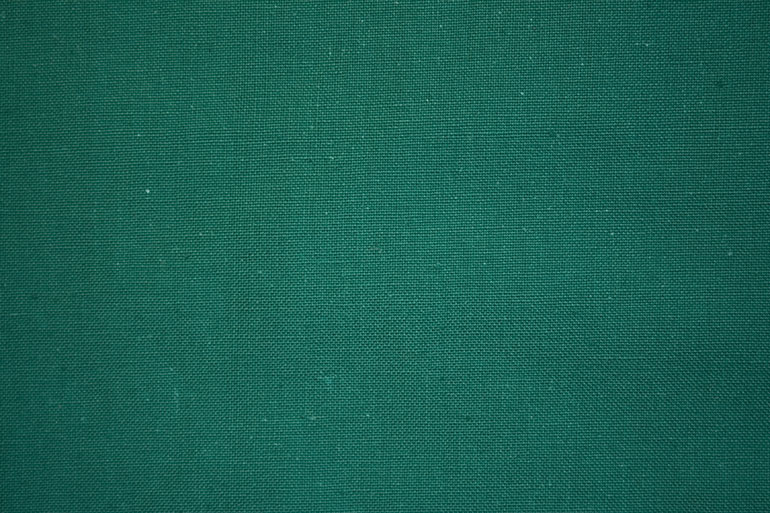 Green textile texture closeup