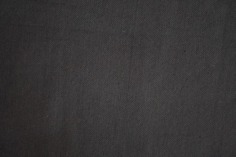 Black textile texture closeup