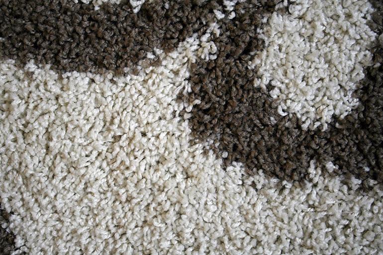 Grey and brown textile texture closeup
