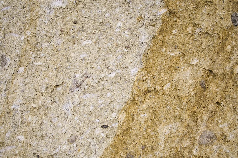 Yellow concrete, Dusty wall free stock texture
