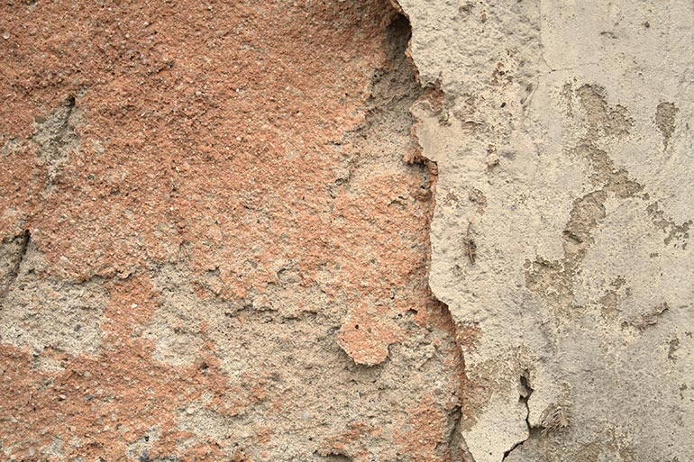 Cracked free wall texture