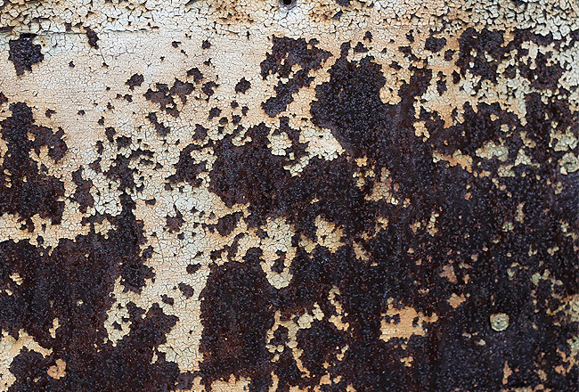 Metal texture with lot's of rust
