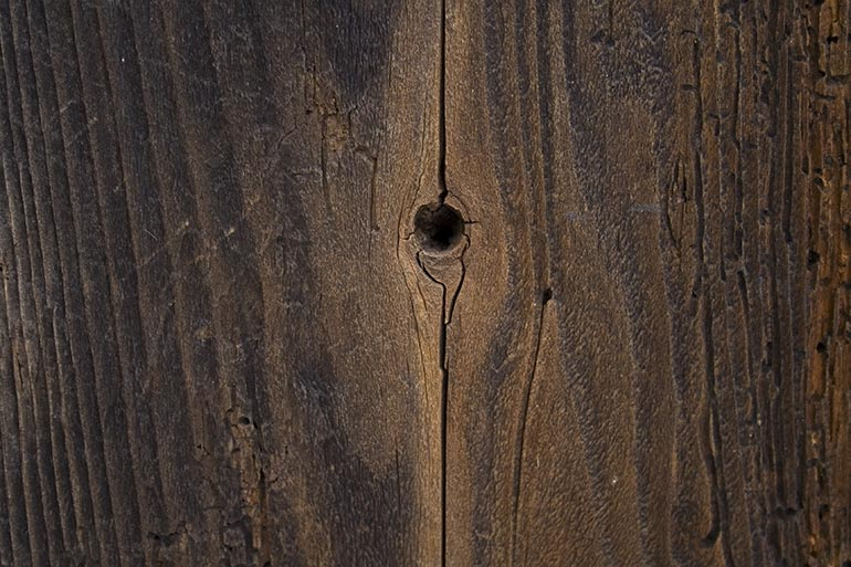 Cracked wood texture, old, decayed wood