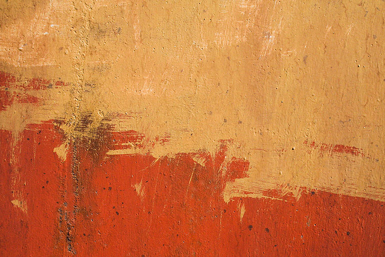 Oil Painting Copper Color