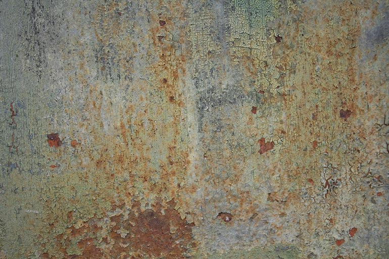 Green Metal, old rusty metal, free stock texture