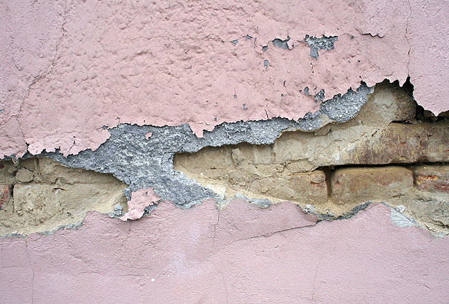 Wall texture, cracked wall
