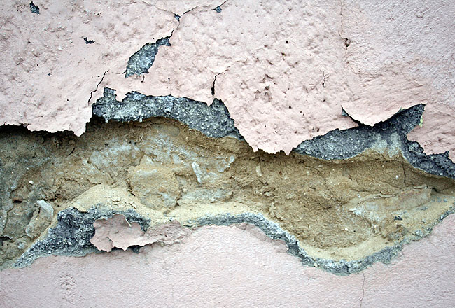 Cracked wall texture, with concrete