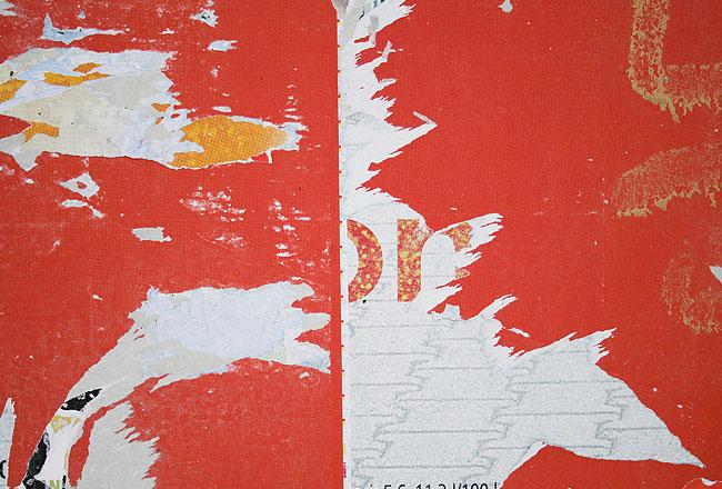 Grunge-texture, red