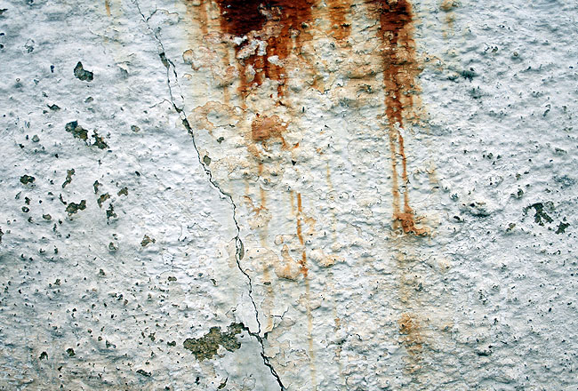 Wall texture, with rust