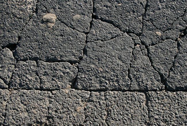 Cracked asphalt free for work texture