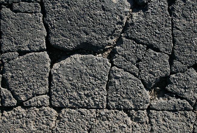 Cracked like a web asphalt texture