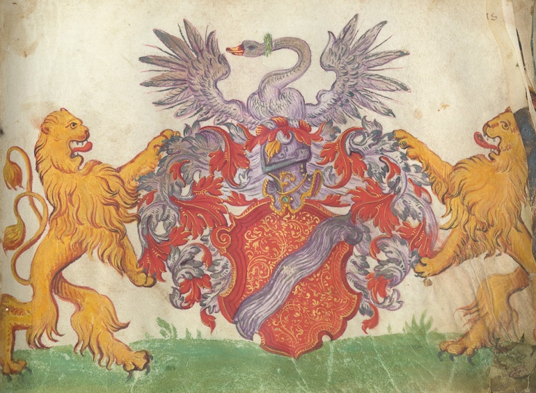 The Book of Crest with 45 HQ page from the XV-XVI. century
