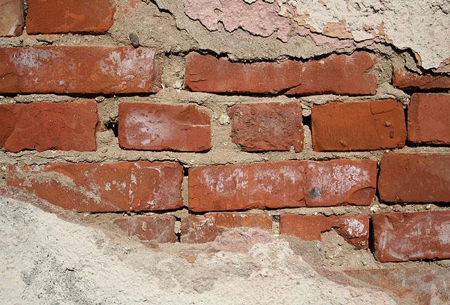 Brick Wall texture, cracked wall