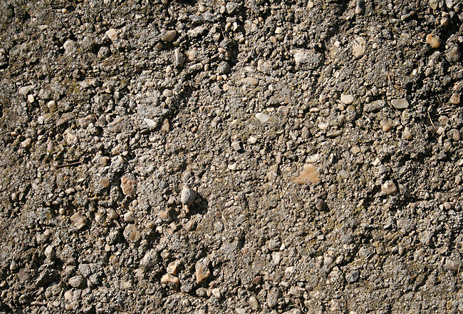 Concrete close-up with gravel free for work
