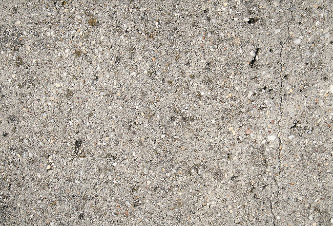Concrete texture with small gravels