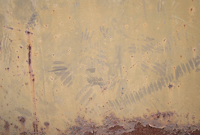 cracked rusty brown metal texture