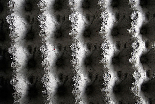 Egg cup paper texture