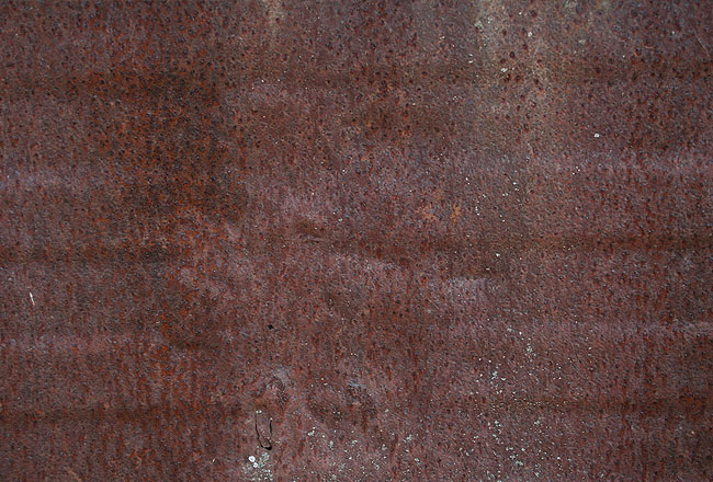 Metal texture with rust