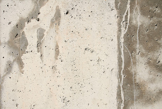Concrete texture with some flooding