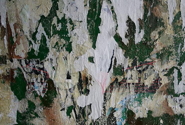 Grunge wall texture – green