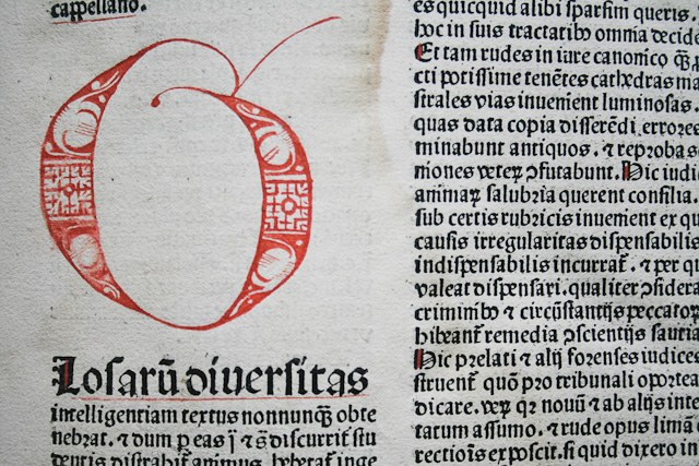 Exclusive texture – Incunabulum