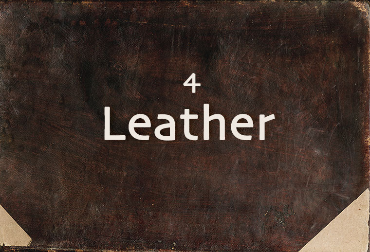 4 Leather Book Cover Texture