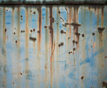 Metal texture blue rusty metal