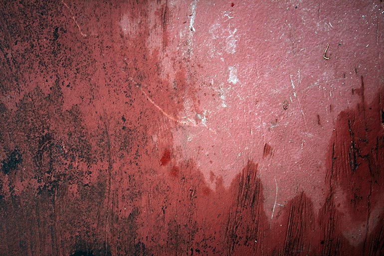 Wet painted wall texture
