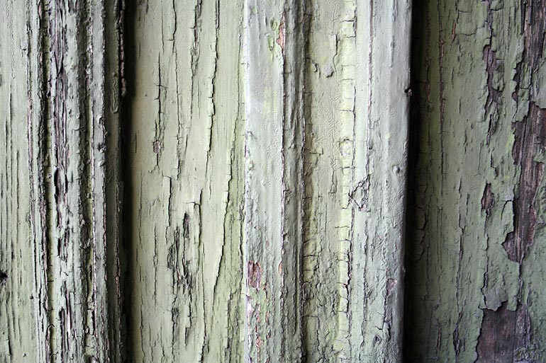 Painted Green Wood texture free download