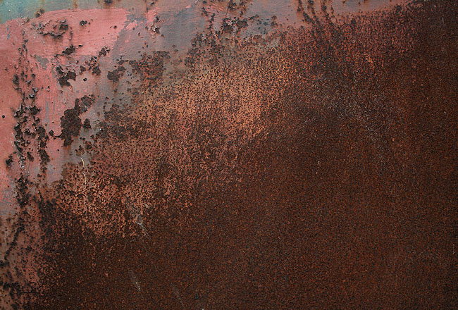 Metal texture with full of rust
