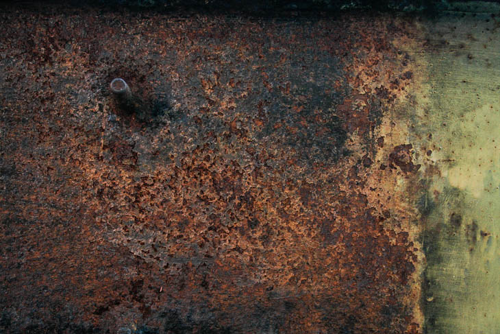 9 Cool Rusty Painted Metal Texture