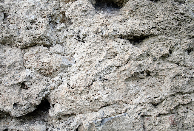 Stone wall texture with some concrete