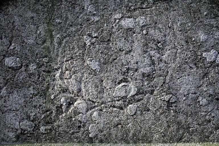 Grey cracked stone texture
