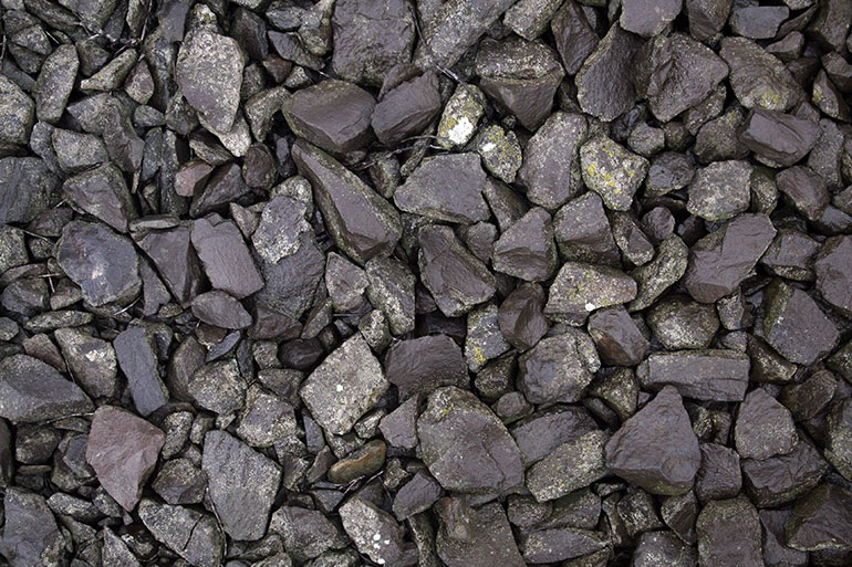 Black gravel free stock stone texture