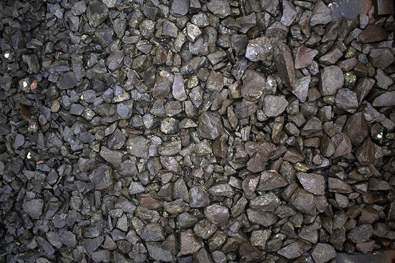 Black gravel free texture