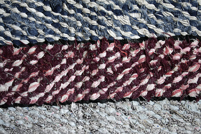 Blue red grey colors rugs textile texture – free download