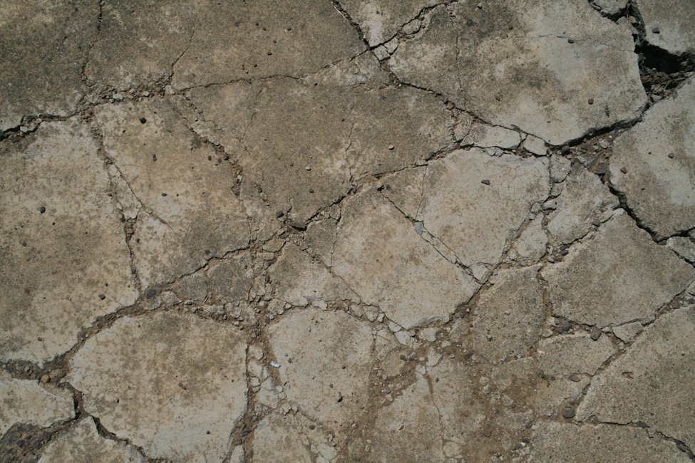 Concrete texture - cracked wall