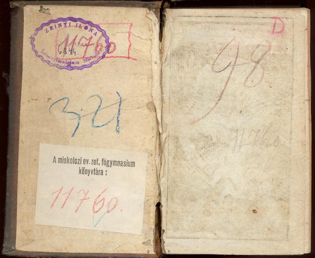 Vintage book texture