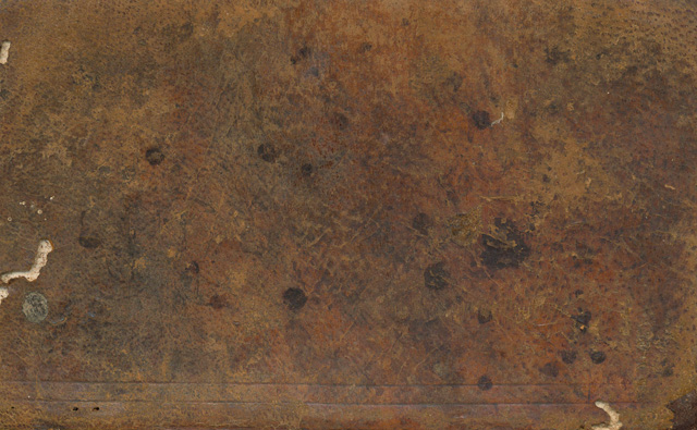 Vintage leather book cover texture from texturepalace
